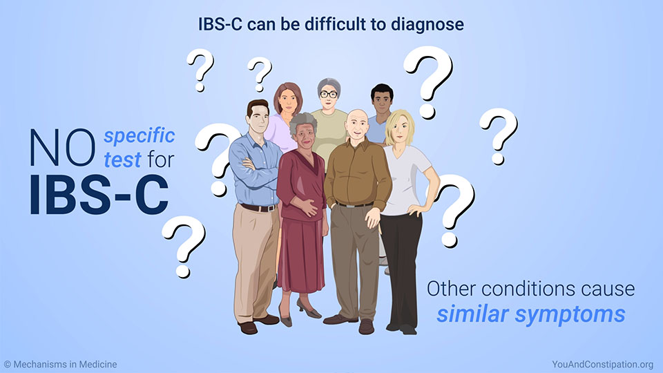 IBS-C can be difficult to diagnose