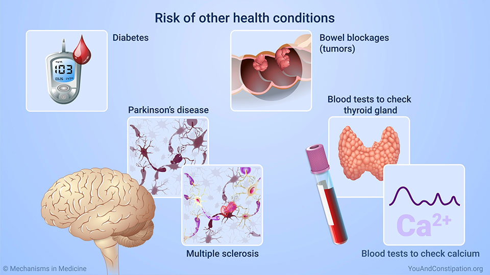 Risk of other health conditions