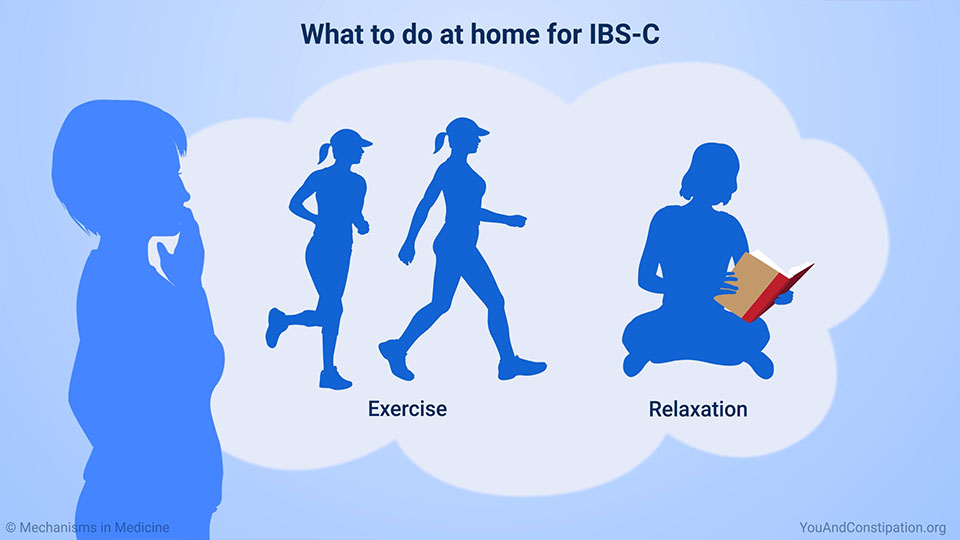 What to do at home for IBS-C